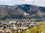 Oberlahnstein: Traumhafter Blick über Lahnstein ins Rheintal und auf Schloß Stolzenfels Einfamilienhaus mit zusätzlichem Nebenhaus
